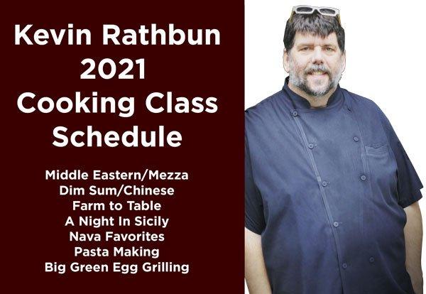 Kevin Rathbun 2021 Cooking Class Schedule